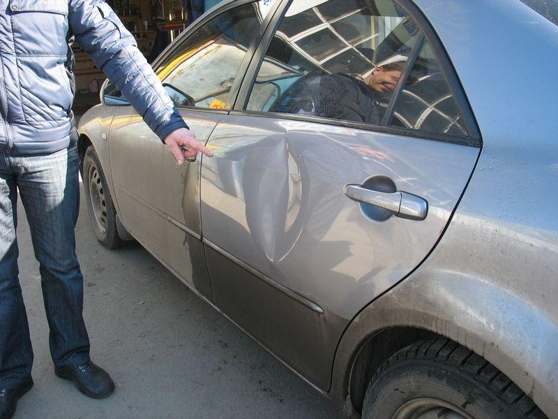 Устранение вмятин на автомобиле